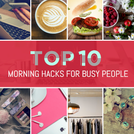 Morning Hacks -  Instagram Post