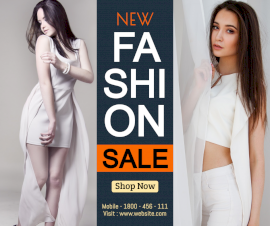 New Fashion Sale - Facebook Post