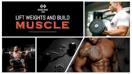 Online Editable Weight Lifting Equipment 4 Photo Collage