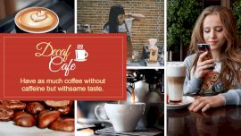 Decaf Cafe - Facebook Event Cover