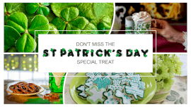 Online Editable Fancy Text S T Patrick's Day Party 4 Photo Collage