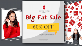 Big Fat Sale Facebook Event Cover