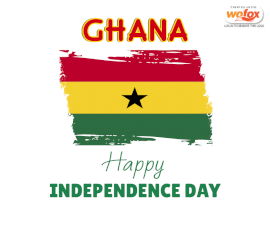 Online Editable Independence Day in Ghana March 6th Facebook Post