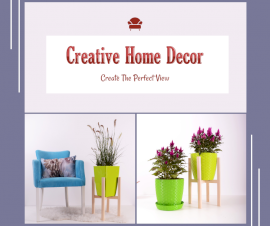 Online Editable Creative Ideas for Home Decor 2 Grid Photo Collage