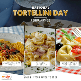 Online Editable National Tortellini Day 3 Grid Photo Collage