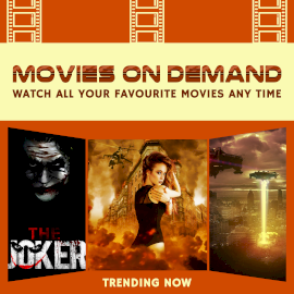 Online Editable Movies on Demand 3 Grid Photo Collage