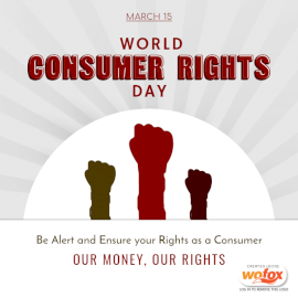 Online Editable World Consumer Rights Day March 15 Social Media Post