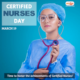 Online Editable Certified Nurses Day March 19 Instagram Post