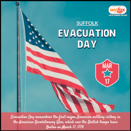 Online Editable Evacuation Day in the United States March 17 Instagram Post
