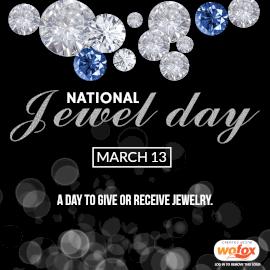 Online Editable National Jewel Day March 13 Instagram Post