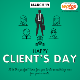 Online Editable International Clients' Day March 19 Instagram Post