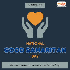 Online Editable National Good Samaritan Day March 13 Instagram Post
