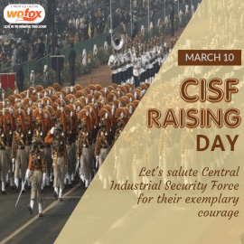 Online Editable CISF Raising Day March 10 Instagram Post