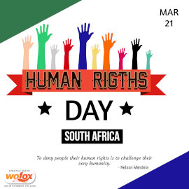 Online Editable Human Rights Day in South Africa March 21 Instagram Post