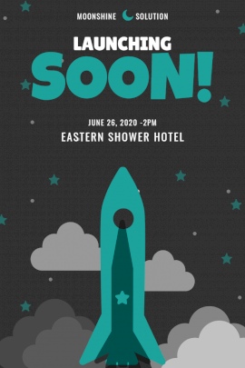 Online Editable Eastern Shower Hotel Opening Soon Announcement Instagram Post