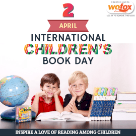 Online Editable International Children's Book Day April 2 Instagram Post