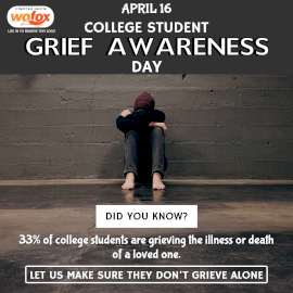 Online Editable College Student Grief Awareness Day Instagram Post