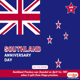 Online Editable Southland Anniversary Day in New Zealand Instagram Post