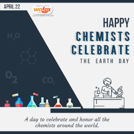 Online Editable Happy Chemists Celebrate the Earth Day April 22 Instagram Post