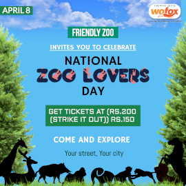 Online Editable National Zoo Lovers Day April 8 Instagram Post