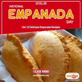 Online Editable National Empanada Day Recipes April 8 Instagram Post