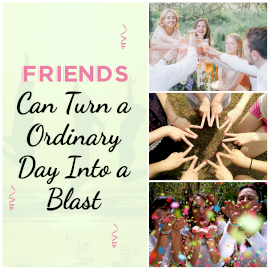 Online Editable Friendship Day Quotes 3 Grid Photo Collage