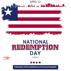 Online Editable National Redemption Day in Liberia April 12 Instagram Post