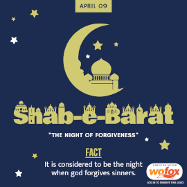 Online Editable Shab e-Barat Instagram Post
