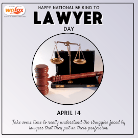 Online Editable International Be Kind To Lawyers Day Instagram Post