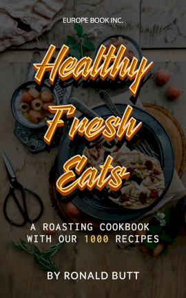 Online Editable Healthy Food Cooking Recipe Book Book Cover