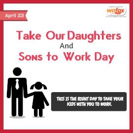 Online Editable Take Our Daughters and Sons to Work Day Instagram Post