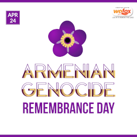 Online Editable Armenian Genocide Remembrance Day April 24 Instagram Post