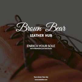 Online Editable Leather Shoe Store Instagram Post