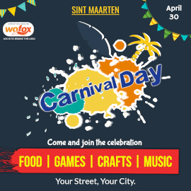 Online Editable Carnival Day in Sint Maarten April 30 Instagram Post
