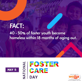 Online Editable National Foster Care Day Instagram Post
