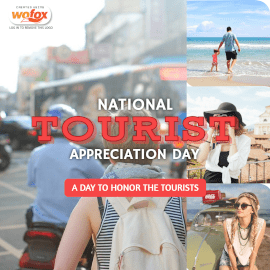 Online Editable National Tourist Appreciation Day May 6 Instagram Post