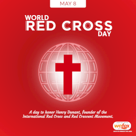 Online Editable World Red Cross Day May 8 Social Media Post