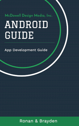 Online Editable Android App Development Guide Book Cover