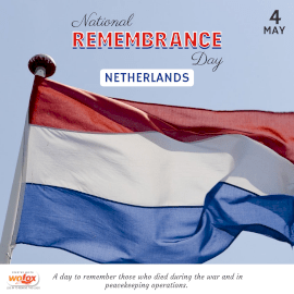 Online Editable Remembrance Day in the Netherlands May 4 Instagram Post