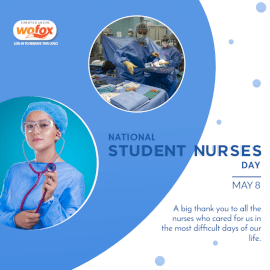 Online Editable National Student Nurses Day May 8 Social Media Post