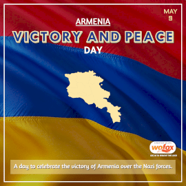 Online Editable Victory and Peace Day in Armenia May 9 Instagram Post