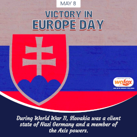 Online Editable Victory in Europe Day May 8 Instagram Post