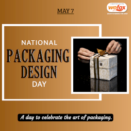 Online Editable National Packaging Design Day May 7 Instagram Post