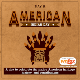 Online Editable American Indian Day Instagram Post