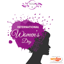 Online Editable International Women's Day on March 8 Instagram Post