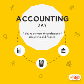 Online Editable Accounting Day Social Media Post