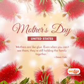 Online Editable Mother's Day in the United States Social Media Post