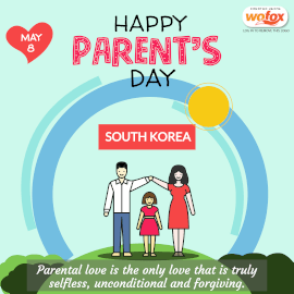 Online Editable Parents' Day in South Korea May 8 Instagram Post