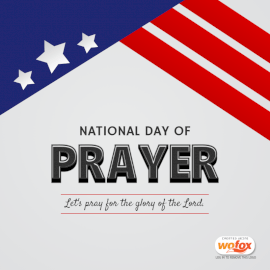 Online Editable National Day of Prayer in the United States Social Media Post