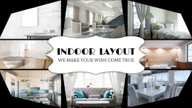 Online Editable Home Interior Design 8 Grid Photo Collage